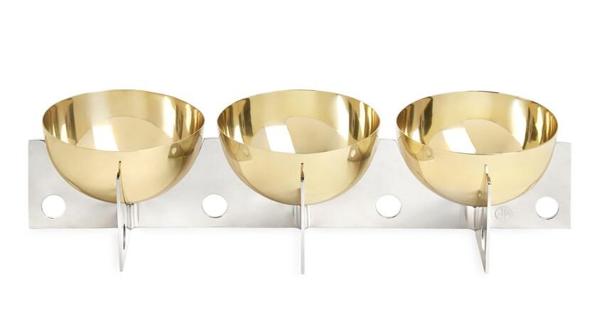 Berlin petite serving bowls, $298 at Jonathan Adler.