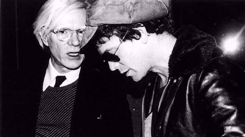 Andy Warhol & Lou Reed, Studio 54 party - 1978. This iconic photo was taken by Rose Hartman.