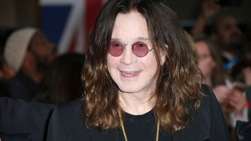 Rocker Ozzy Osbourne has been hospitalized because of flu complications.