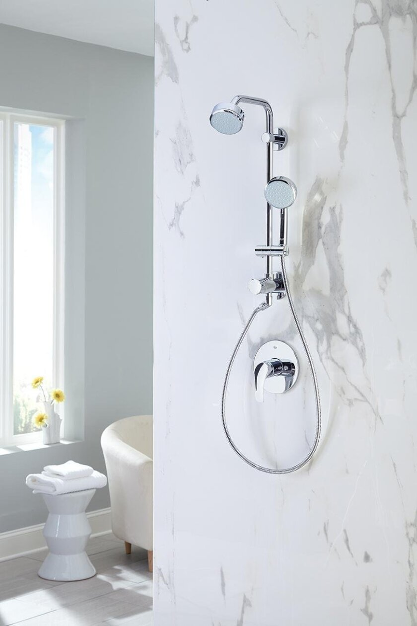 Upgrade your shower without remodeling it.