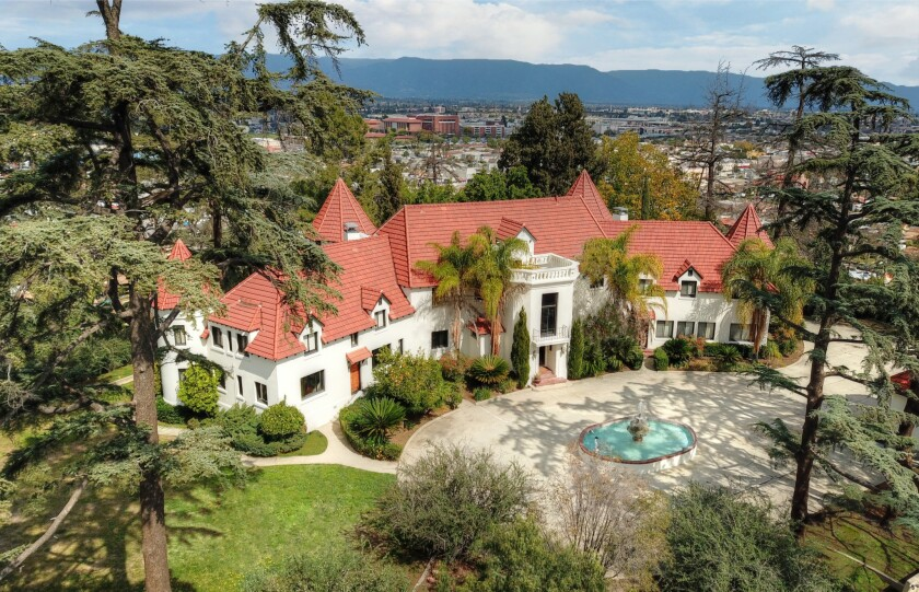 Phil Spector's Alhambra mansion