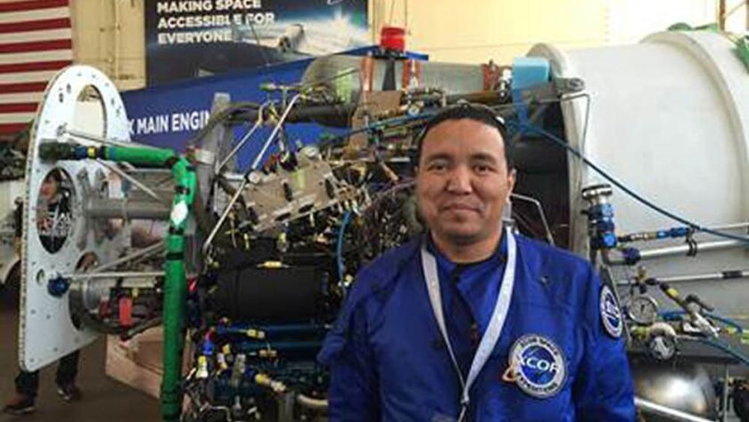 Milan Karki was one of the hopefuls to ride XCOR's Lynx suborbital space plane. He and other are now