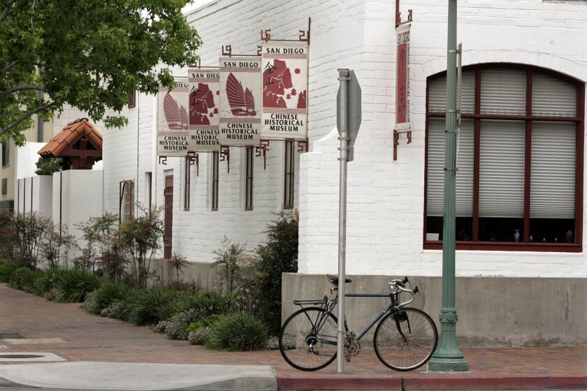 <p>  The area surrounding the Chinese Historical Museum, at Third Avenue and J Street in downtown San Diego, will be getting a makeover starting next year.  <em>   Laura Embry / Union-Tribune photos  </em> </p>