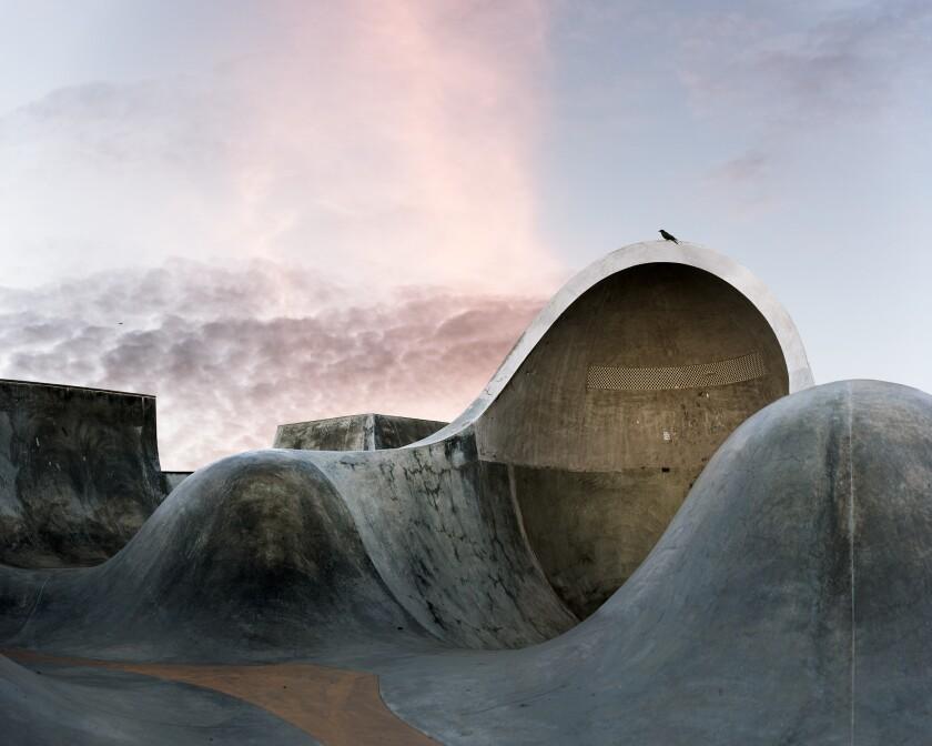 Amir Zaki photographs California skateboard parks as Brutalist architecture