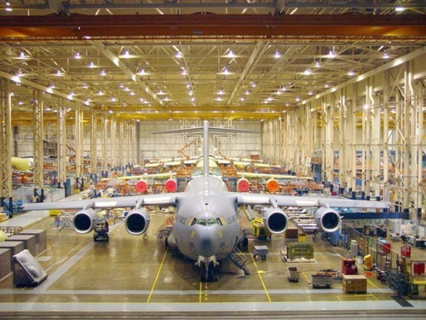 Boeing's C-17 assembly plant in Long Beach is slated to close in two years. The company has proposed building a modified version of the plane that could keep the facility running for another decade or more.