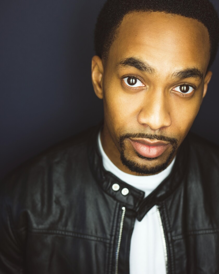 """Edred Utomi, 28, is on a break from starring as Alexander Hamilton in the touring production of """"Hamilton."""""""