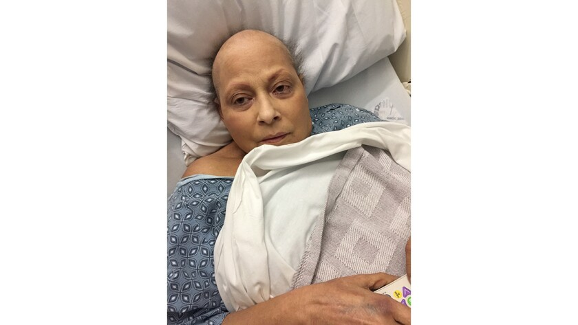 The plaintiff, Eva Echeverria, was diagnosed with ovarian cancer in 2007.