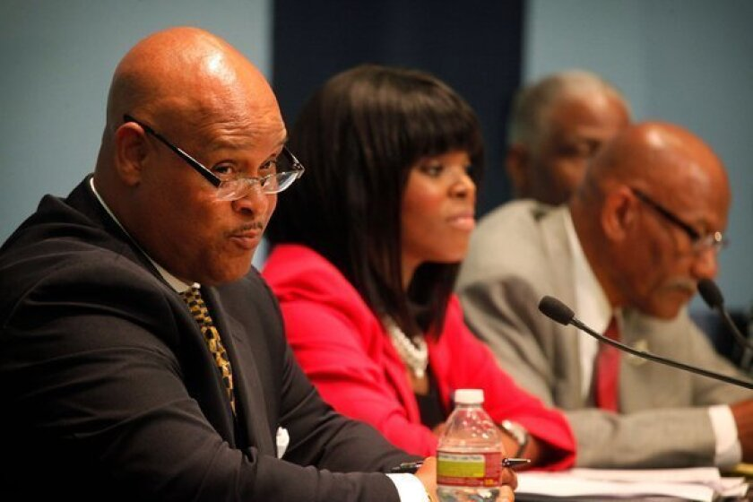 Compton's Omar Bradley leaves hospital, goes to candidates forum