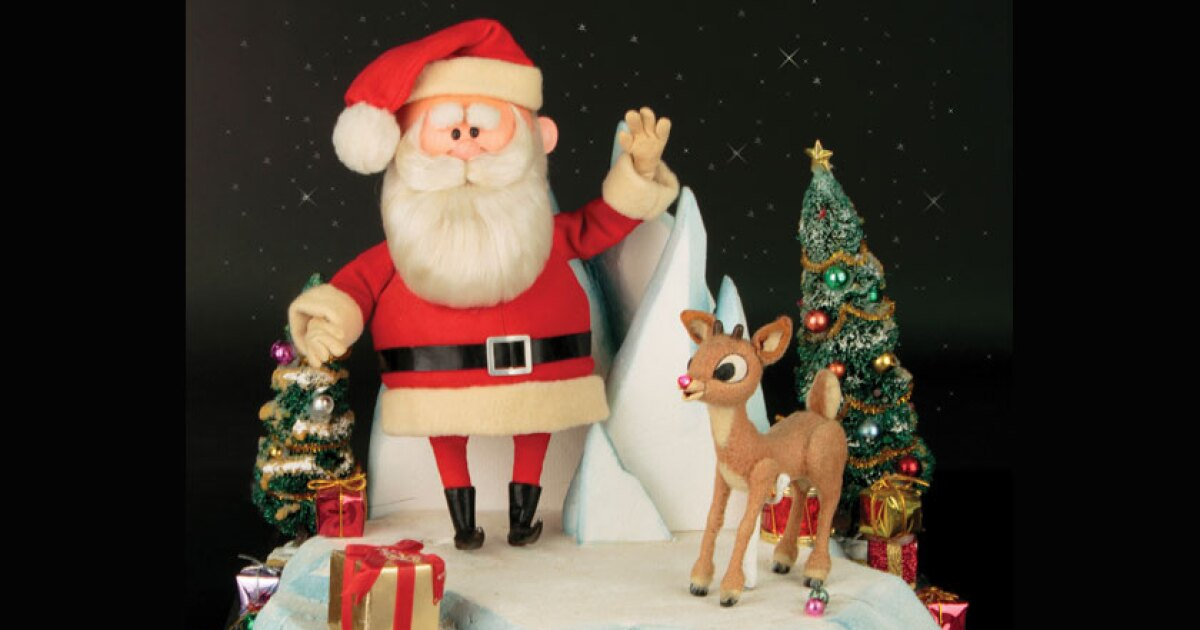 Rudolph The Red Nosed Reindeer Figures Up For Auction Los Angeles Times