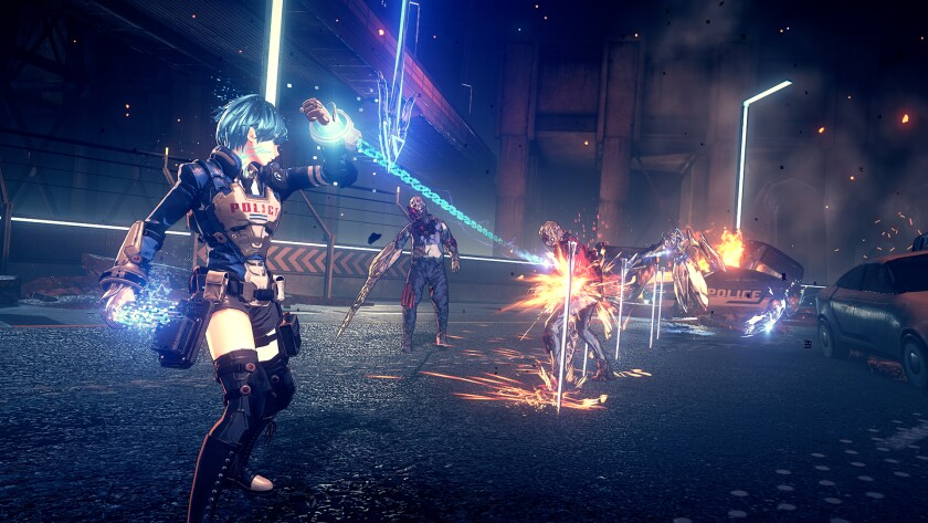 """""""Astral Chain"""" is a sci-fi game that views the police of the future with love."""