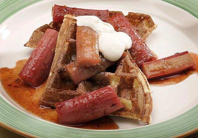 Sour cream waffles