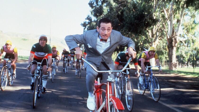 """Paul Reubens in """"Pee-wee's Big Adventure"""""""