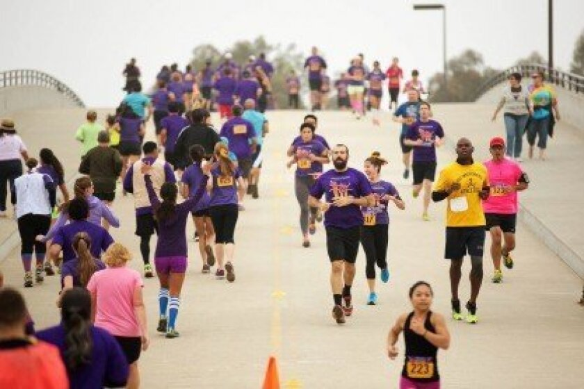 The Run to Fight Children's Cancer was held on Oct. 26 at NTC Park at Liberty Station. Courtesy photo