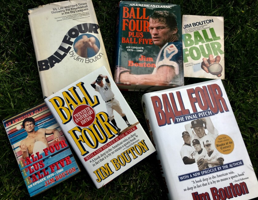 'Ball Four' author Jim Bouton smoked baseball inside until the very end