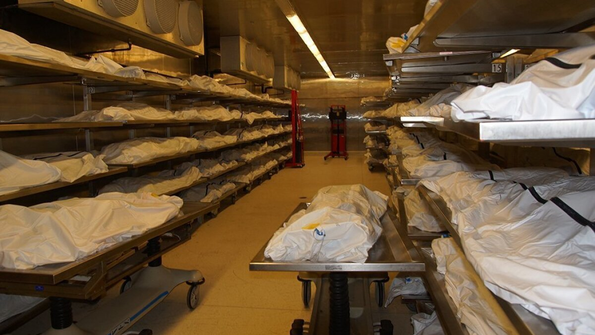County Medical Examiner's Office opens up morgue to give