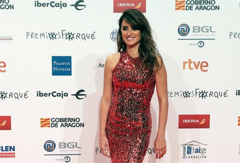 La actriz Penélope Cruz. EFE/Archivo