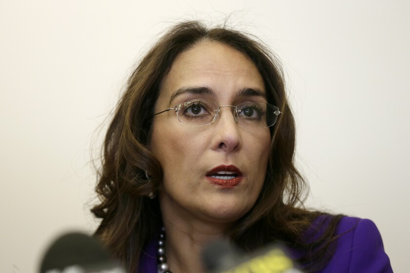 Harmeet Dhillon challenged Gov. Newsom's order keeping schools closed in counties on a state watch list.