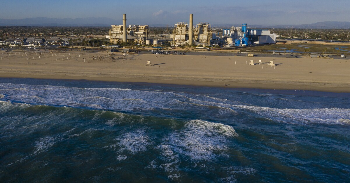 Newsom pushes controversial Poseidon desalination plant