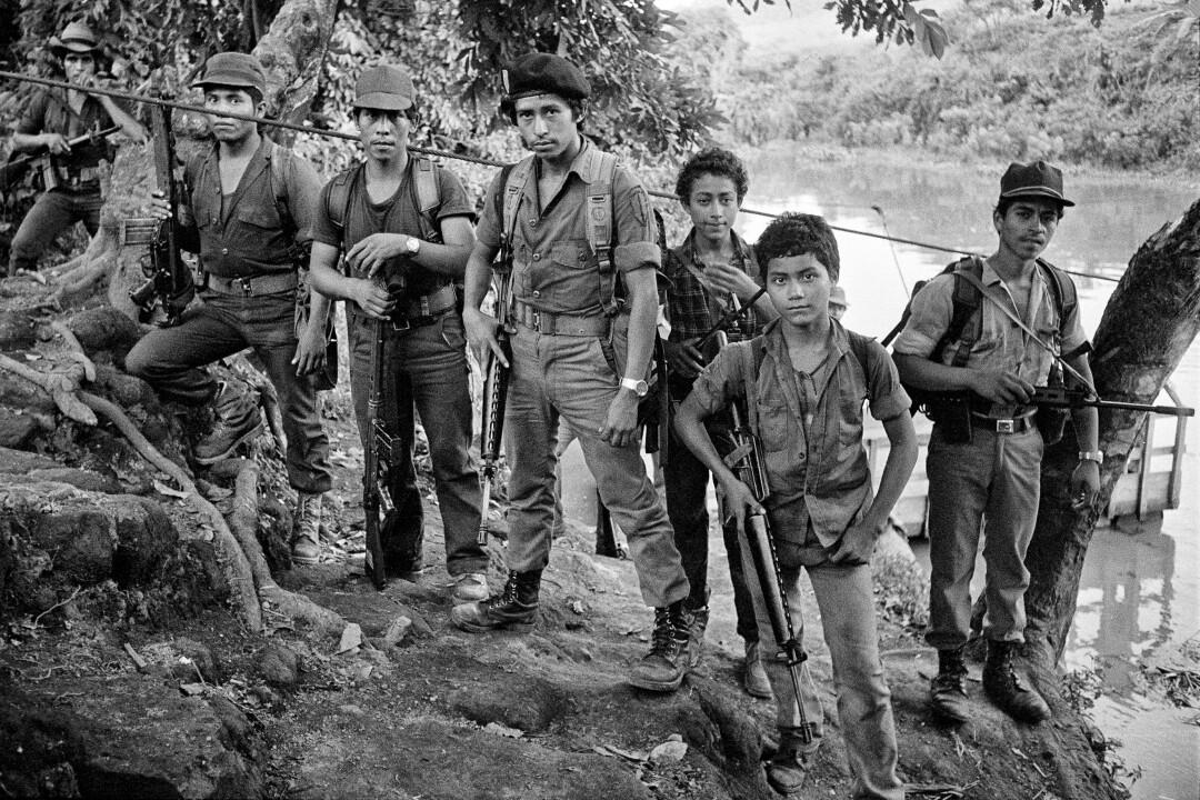 El Salvador rebels, 1983