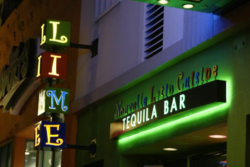 The Lime, a popular tequila bar in San Diego's Gaslamp Quarter, is located in one of the buildings recently purchased by ASB Real Estate Investments.