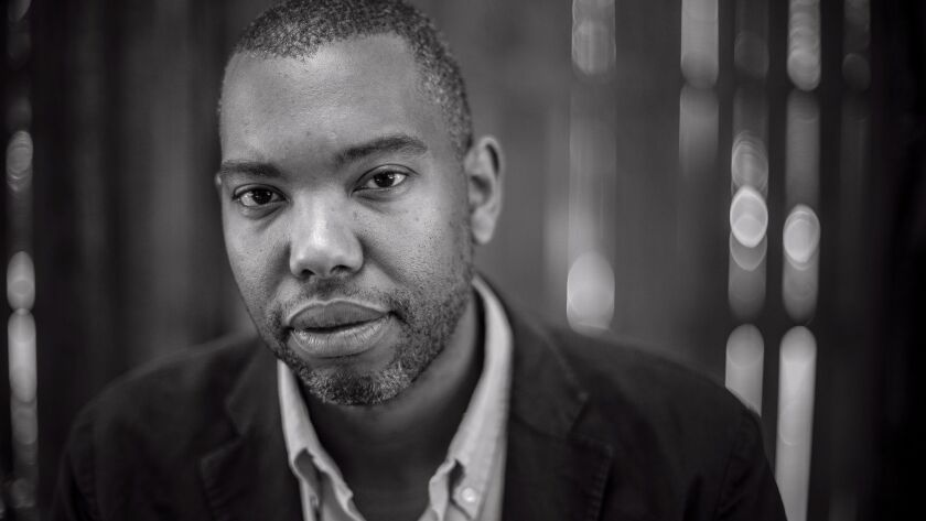 Author Ta-Nehisi Coates in Baltimore City, Md on July 16, 2015. Ta-Nehisi Coates' new book is 'We W