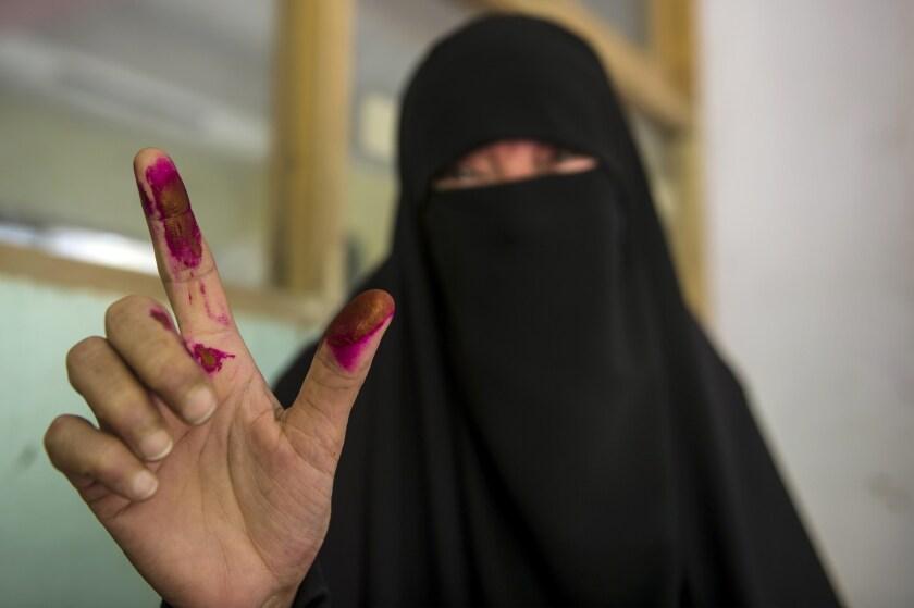 Egyptian vote