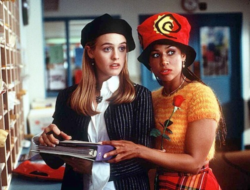 """Stacey Dash and Alicia Silverstone in the film """"Clueless."""""""