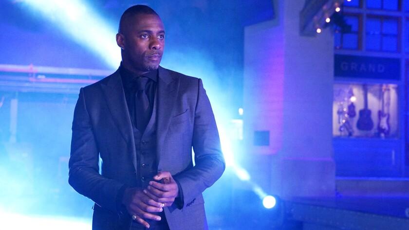 "Idris Elba hosts ""Saturday Night Live"" on NBC."