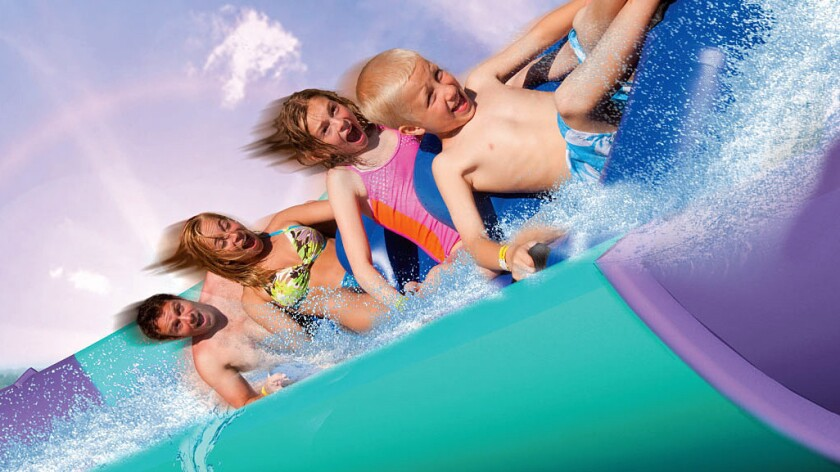 The Aqua Rocket will be Southern California's first water coaster when it debuts this summer at Raging Waters water park in San Dimas.