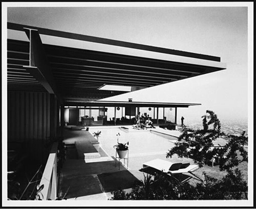 <b>OUTCOME:</b> Koenig straightened out the curve in Stahl's model and reworked the carport and the roof, among other redesigns.