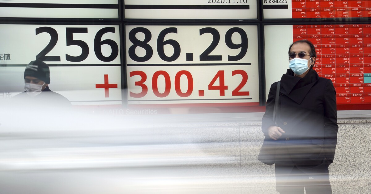 Asian Shares Climb After S P 500 Record Despite Virus Woes The San Diego Union Tribune