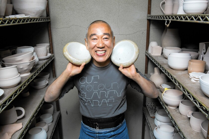 Morihiro Onodera turns his culinary artistry into pottery