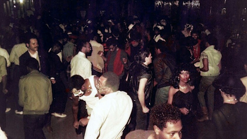 """A photograph of Catch One club patrons in a scene from the movie """"Jewel's Catch One."""" Credit: ARRAY"""