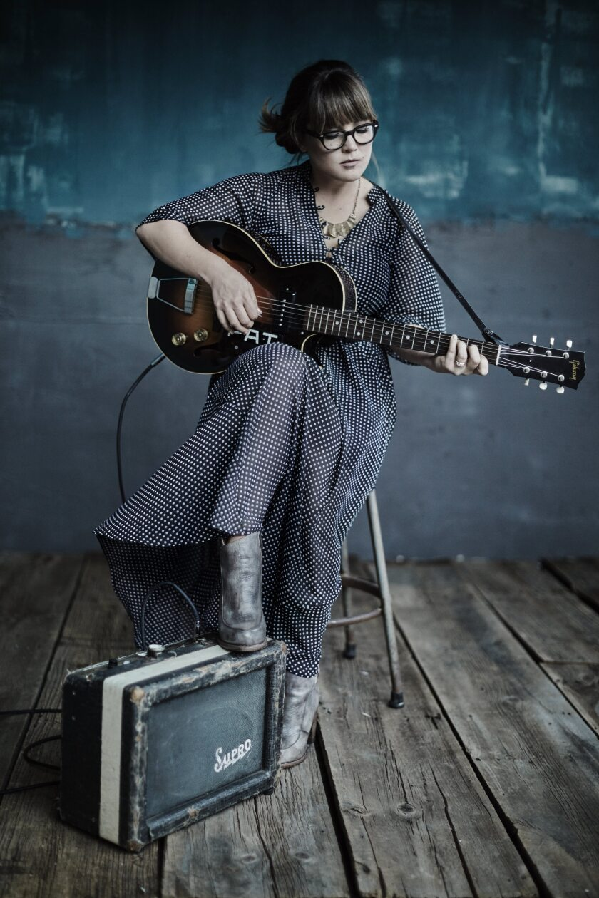 A photo of musician and singer Sara Watkins