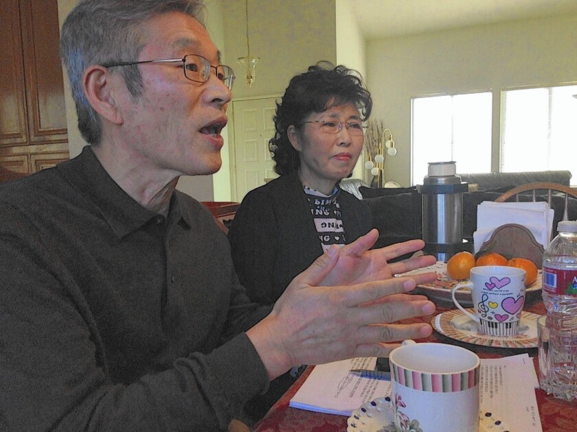 Gabriel and Elizabeth Cho of San Dimas answered a call to fill a shortage of Korean foster parents