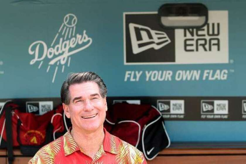 Steve Garvey, shown here in 2011, is battling prostate cancer.