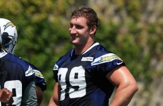 Bosa's first practice at Chargers Park