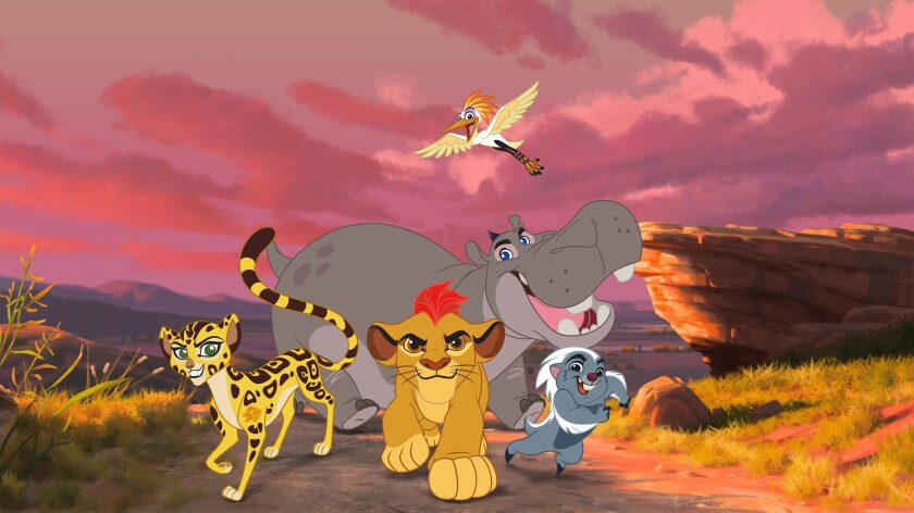 Lion King Follow Up Movie Lion Guard To Air On Disney Channel In November Los Angeles Times