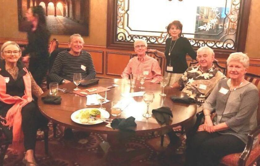Happy Hour at Covo with Helen Mason, Dudley Hartung, Michael Clapman, Sarah Forster, Duane and Lynn Knize