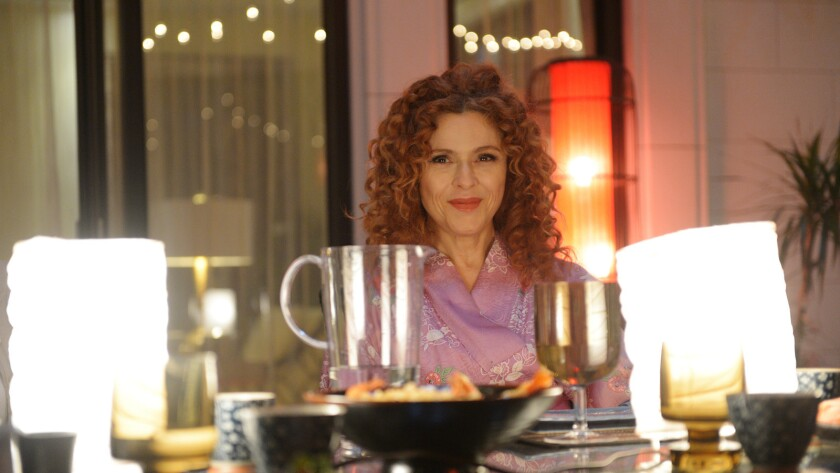 "Bernadette Peters in a new episode of ""Girlfriends' Guide to Divorce"" on Bravo."