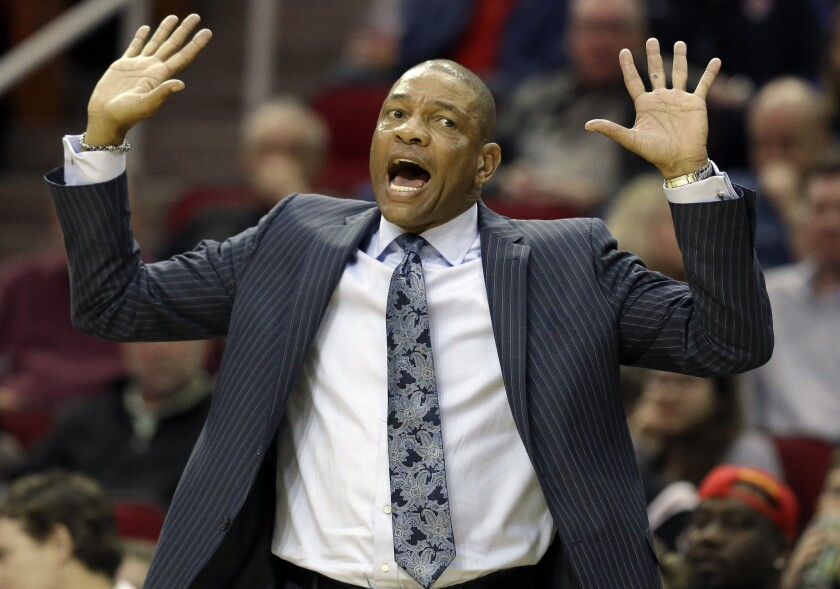 Clippers' Doc Rivers pushes for NFL-style coach's challenge in the NBA
