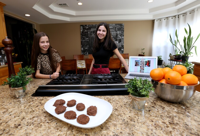 Foodie sisters show off sophisticated side of youth dining