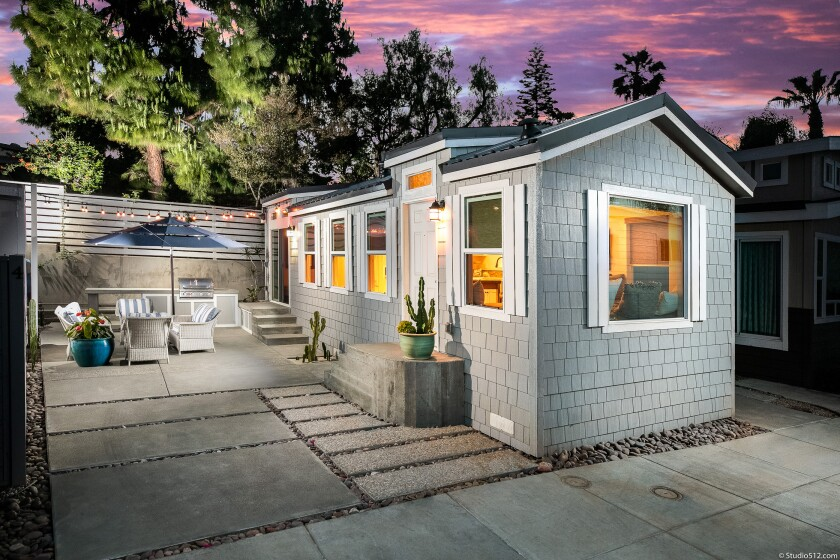 Factory-built ADUs — accessory dwelling units — can lower costs without sacrificing charm. In San Diego, they're in demand for both cultural and financial reasons.