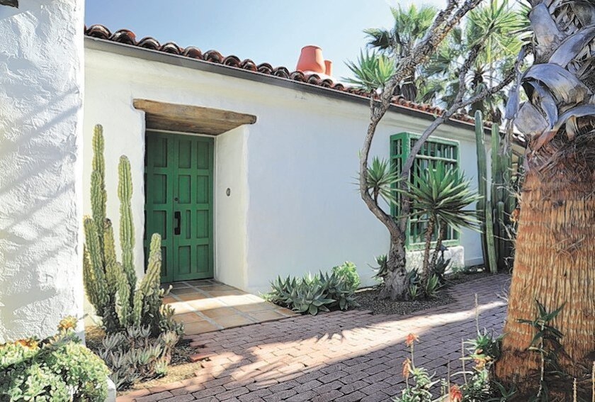 One of Cliff May's early hacienda-style homes, part of the SOHO Historic Home Tour Weekend.