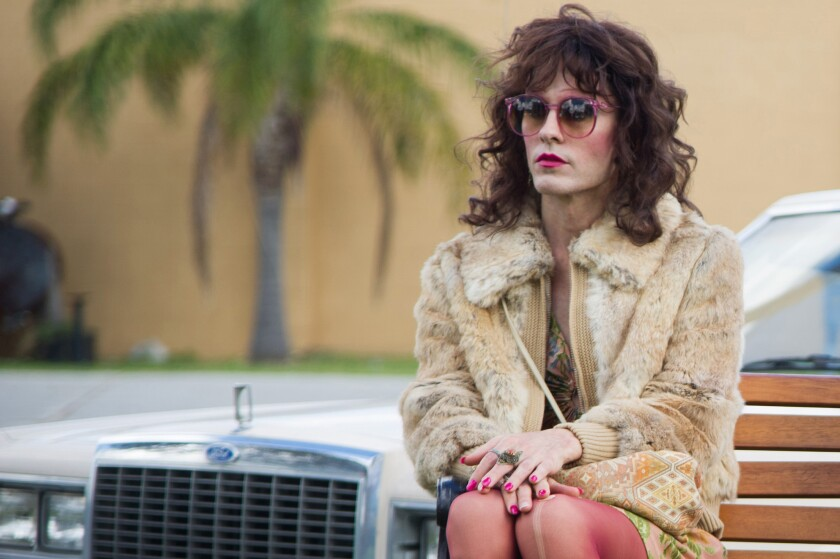 """Jared Leto, nominated as for a supporting actor Academy Award, as Rayon in a scene from """"Dallas Buyers Club."""""""