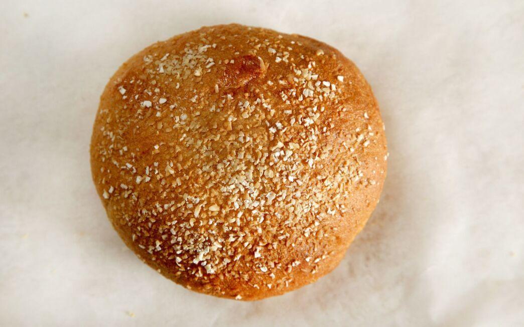 Honey whole wheat burger buns