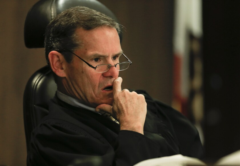 Orange County Superior Court Judge Thomas Goethals.