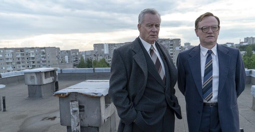 "Stellan Skarsg?rd and Jared Harris in ""Chernobyl"" on HBO."