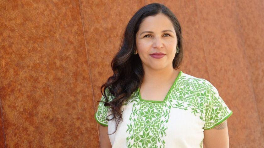 Eve Reyes-Aguirre is running for U.S. Senate in Arizona.