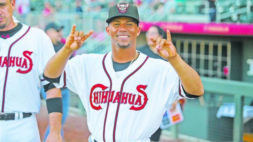 Francisco Mejia joined the Padres system via the Brad Hand trade.